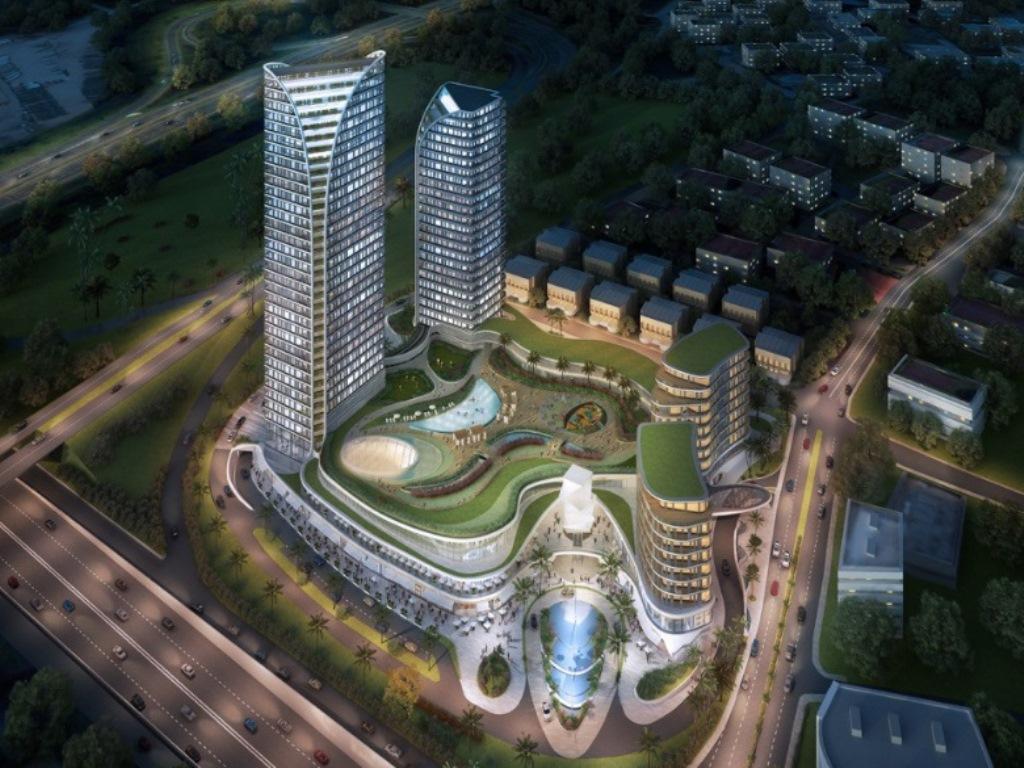 Central Balat'da Satılık Şehir Manzaralı 2+1 Sıfır Rezidans Daire